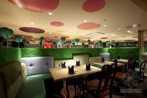 日本爱丽丝梦游仙境主题餐厅设计