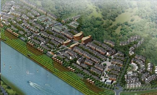 湖北宜昌高阳修建城市规划设计图