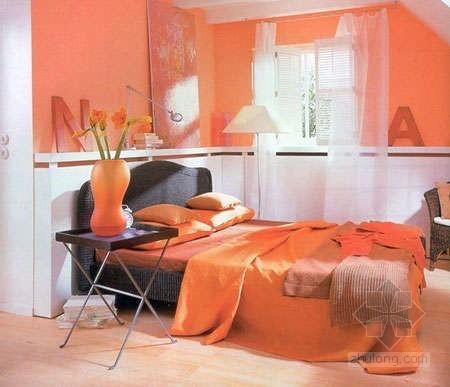 暖色调的卧室空间设计 打造浪漫小屋