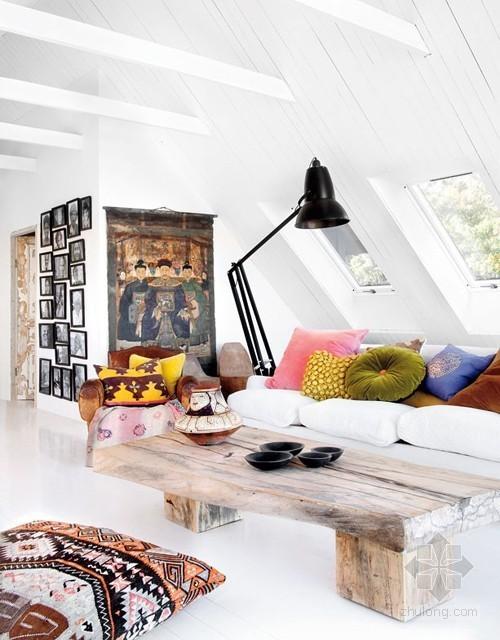 混搭风格瑞典人玛丽·奥尔森的公寓室内设计