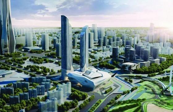 扎哈·哈迪德设计的南京青奥中心设计方案公示