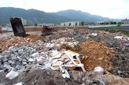 垃圾电厂事故案例分析讨论资料下载-西安拟出台《建筑垃圾管理条例》