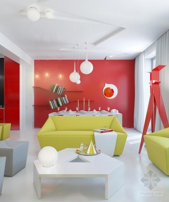 致命非凡爱上超炫的亮丽空间概念家居室内设计