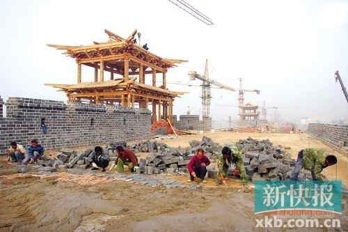 山西斥资百亿复兴大同古城 城墙修复达10亿元