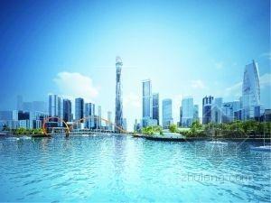 广州国际金融城三个景观规划优胜方案出炉