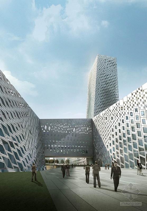 山东:文化艺术中心三馆主体封顶
