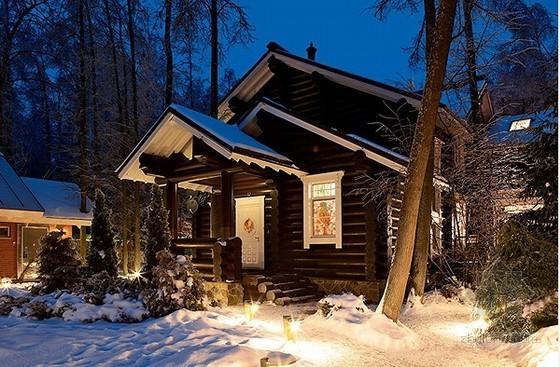 俄罗斯风格精致庄园室内设计