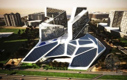 光伏建筑一体化  盘点全球最美光电建筑(图)