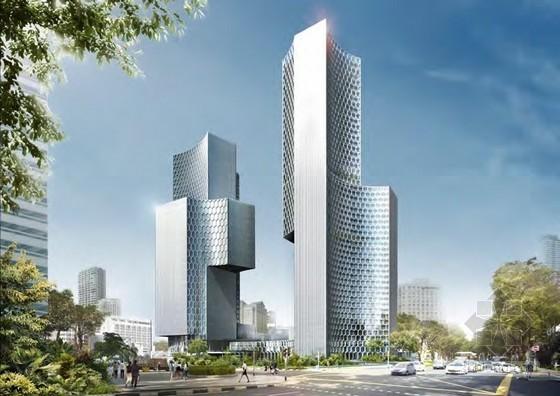 奥雷·舍人事务所设计的新加坡DUO双塔