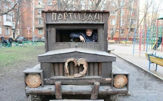 儿童游乐园cad图纸资料下载-莫斯科手工儿童游乐园面临拆除 居民联名抗议