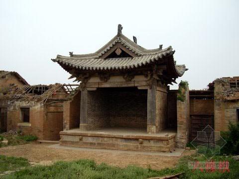 [分享]农村砖木结构房屋图纸资料下载图片