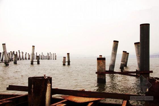 """造价数千万只打了几个桩 观海桥工程为何""""搁浅"""""""