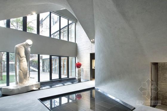 上海卜石艺术馆室内装修设计