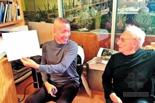 弗兰克·盖里与蔡国强两位大师携手 塑造一流艺术馆