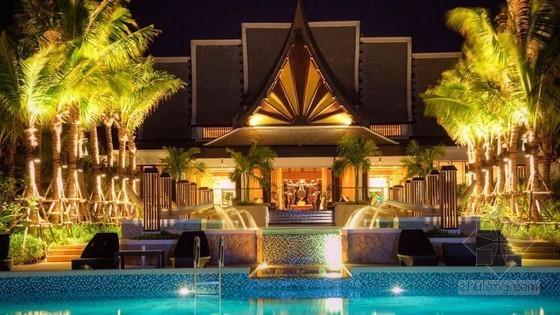 梦幻的泰国五星级度假酒店设计
