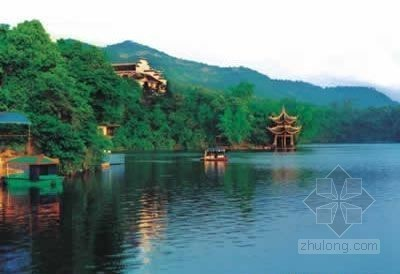 四川隆昌古宇湖水利风景区通过省级专家验收