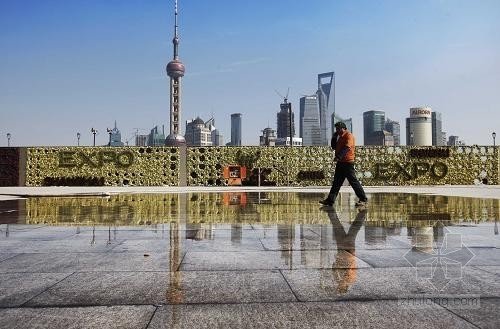 上海外灘今年將增加七座綠化景觀