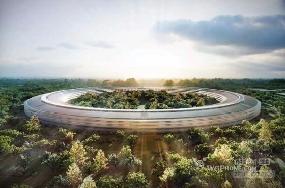 """传苹果""""太空船""""总部大楼预算超支20亿美元"""