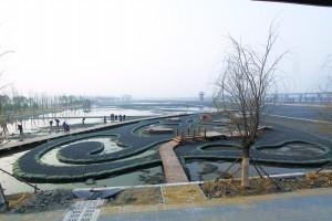 北京园博园湿地工程完工 展现生态湿地美景