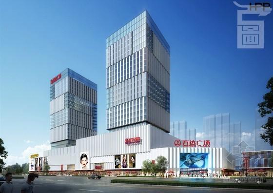福州仓山万达商业广场BIM设计应用