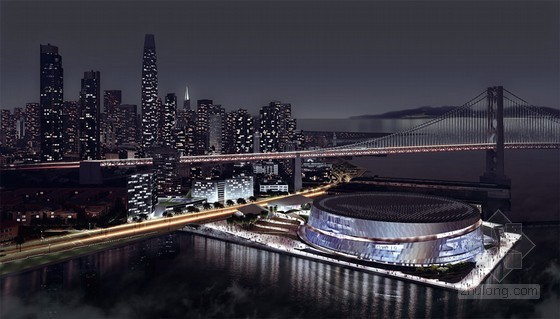 Snøhetta & AECOM的美国金州球馆改造项目