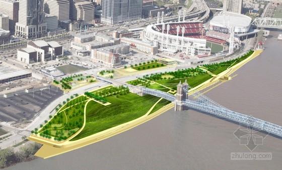 佐佐木公司设计的美国菲利斯•W•斯梅尔滨河公园