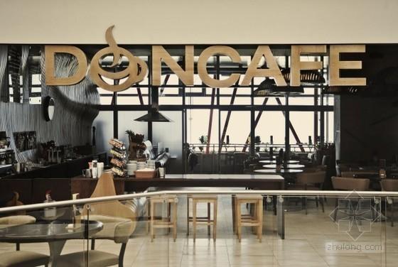 咖啡的麻袋装饰的唐楼咖啡厅装修设计