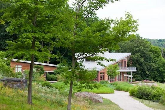 Nelson Byrd Woltz设计的康州住宅景观