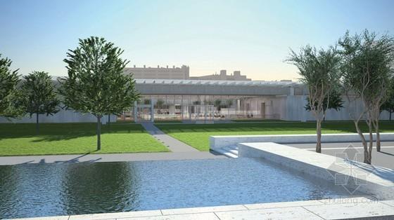 伦佐·皮亚诺设计的金贝尔美术馆Piano展馆