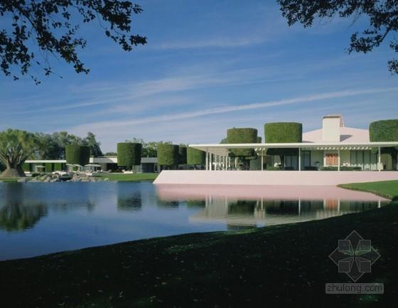 习奥会庄园:现代建筑风格的加州安纳伯格庄园