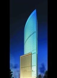 世界建筑大师贝聿铭设计的青岛高楼封顶