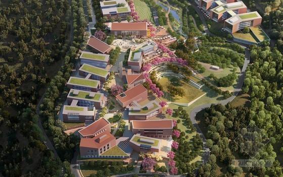 佐佐木设计的危地马拉地峡大学整体规划