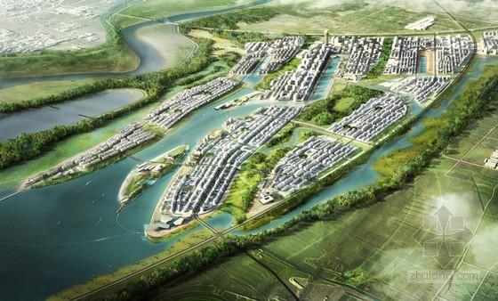 SASAKI设计的济南新城区总体规划