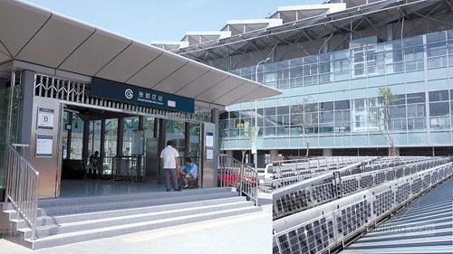 我国首座屋顶太阳能光伏发电地铁站建成运营