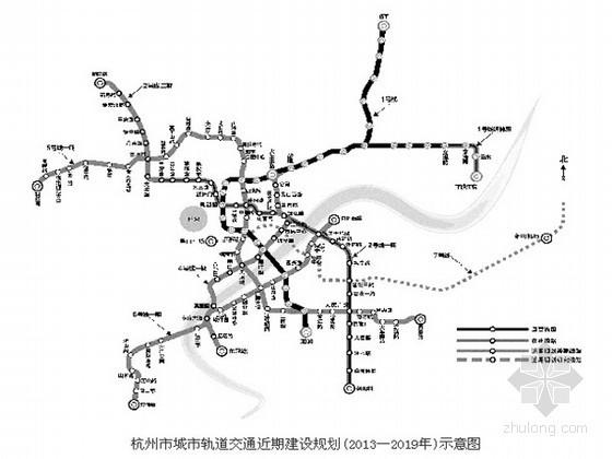 发改委批复杭州四条城市轨道交通建设规划