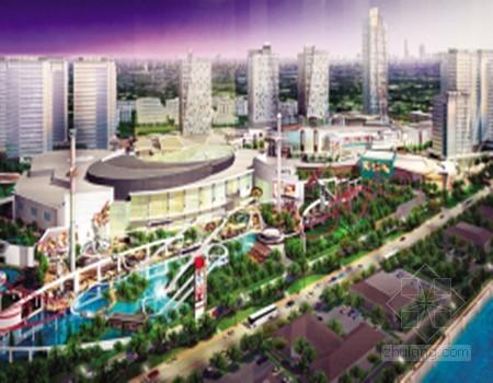 天津市西青区投资40亿开建世界最大环球影城