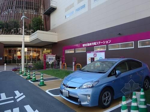 永旺将建日本最大充电网 建1150个充电桩