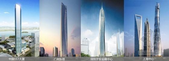BIM助力四大超高层建筑突破云端