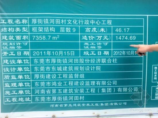 """广东东莞村级豪华办公楼造价1474万""""未批先建"""""""