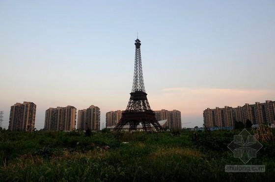 杭州建山寨埃菲尔铁塔 受摄影者青睐