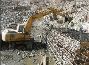 四川卡基娃大坝一期面板混凝土浇筑完美收官
