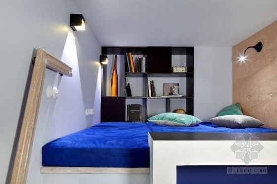 创意十足的阁楼公寓设计 十分的与众不同