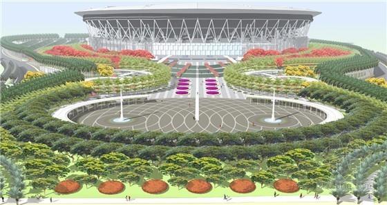 菲律賓新紀元大學競技場景觀規劃