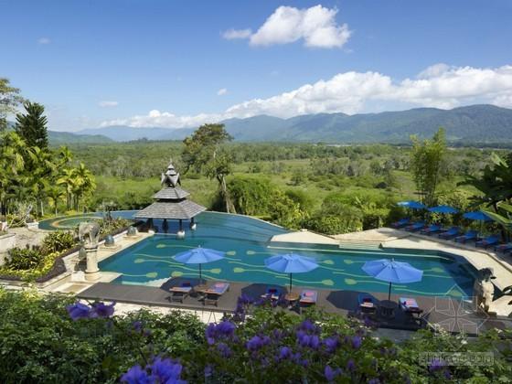 泰国清莱安纳塔拉金三角度假村 环抱天然美景