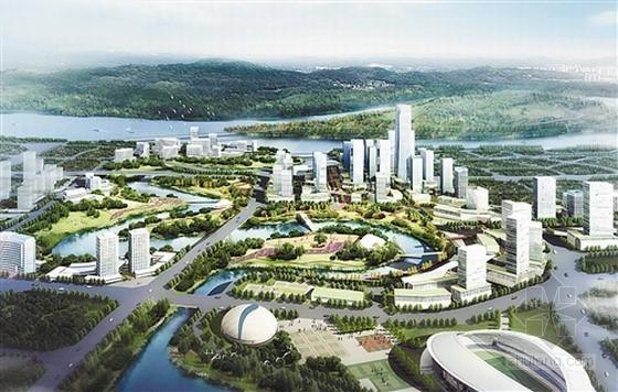 重庆市茶园新区水系城市设计方案揭晓