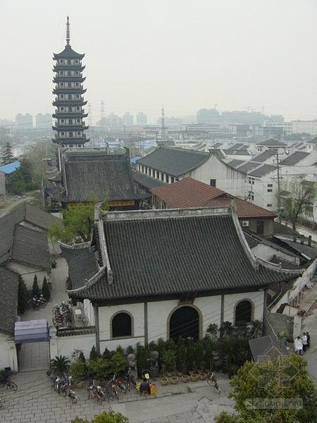 江南罕见的元代木结构建筑 真如寺大殿