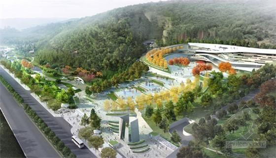 南京汤山国家地质公园博物馆景观概念设计方案