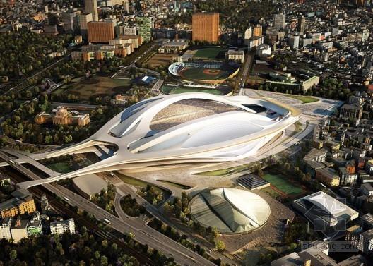 2020年东京奥运会主场馆由扎哈·哈迪德设计