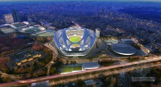 扎哈设计的2020年东京奥运会体育馆最新效果图曝光