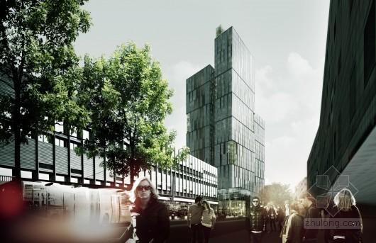 Schmidt Hammer Lassen等设计的挪威第一高楼